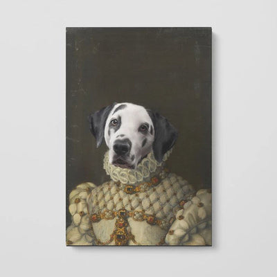 The Princess - Custom Pet Poster - The Vintage Paws