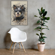 Popart Canvas - The Vintage Paws