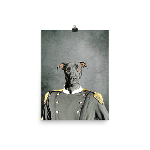 The Confederate Pet Poster