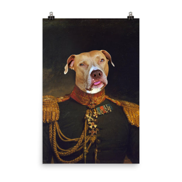 The Russian General Pet Poster