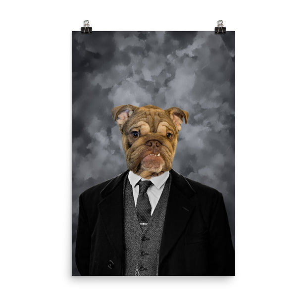 Peaky the Blinder Pet Poster