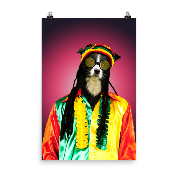 The Hippy Pet Poster