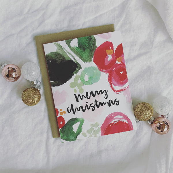 Merry Christmas Card // SOLD OUT