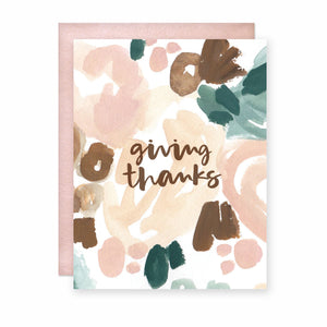 Giving Thanks Card (Box Set)