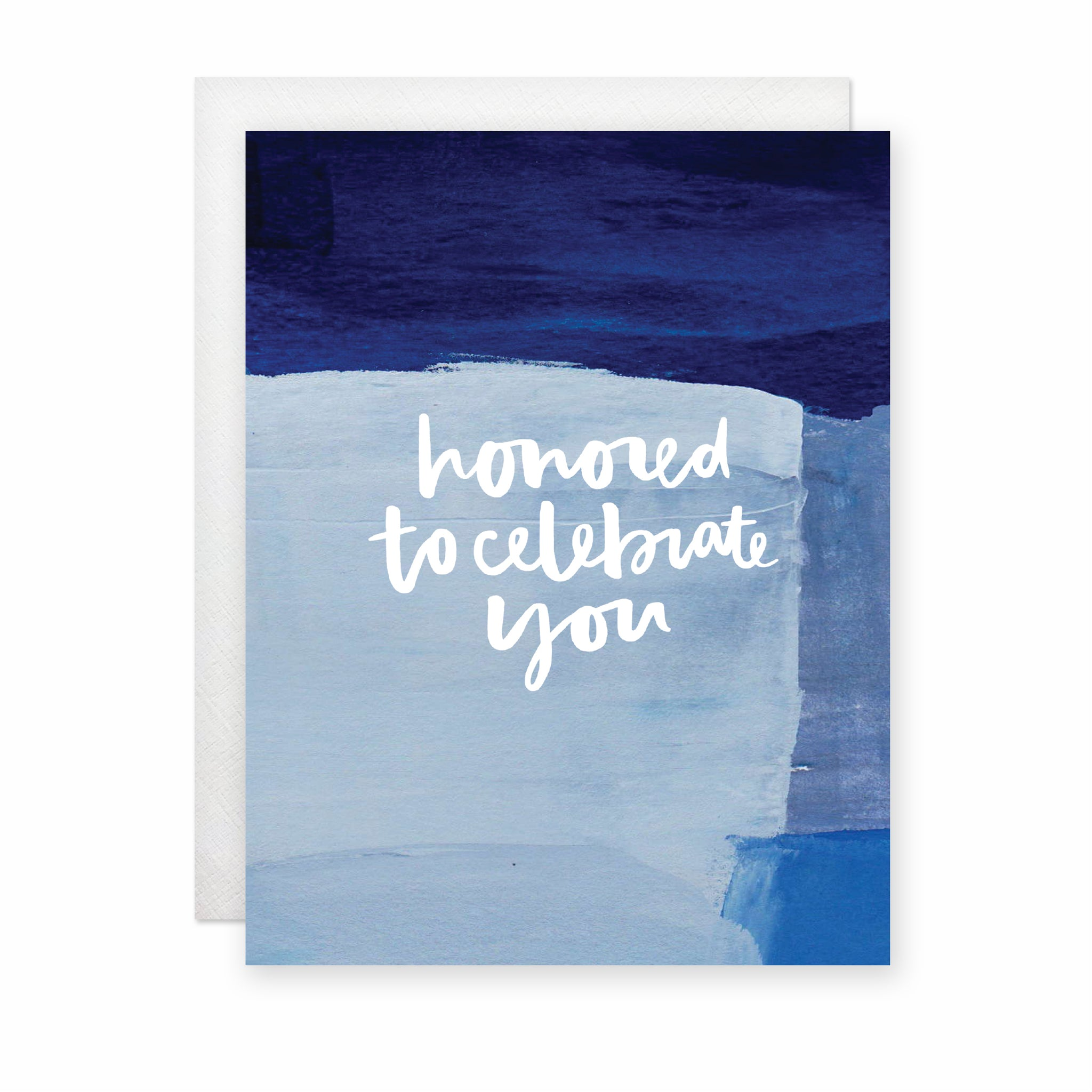 Honored to Celebrate You Card