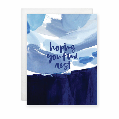 Hoping You Find Rest Card