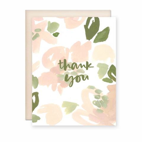 Thank You (Pastel) Card