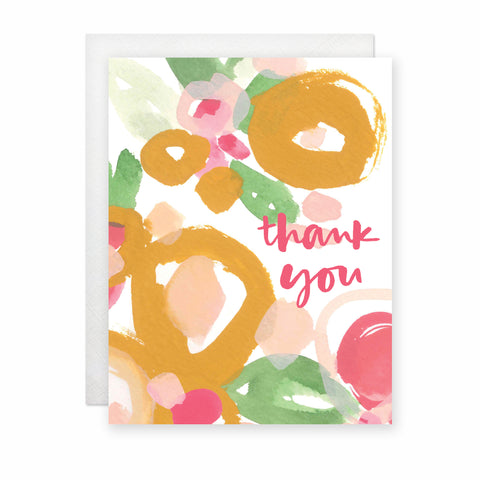 Thank You (Tropical) Card