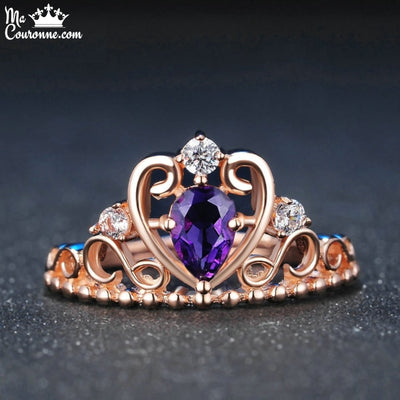Bague Couronne Or