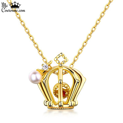 Collier Couronne Or