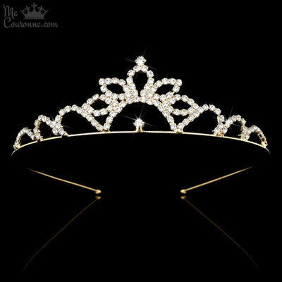 Couronne Princesse Demi Tournesol