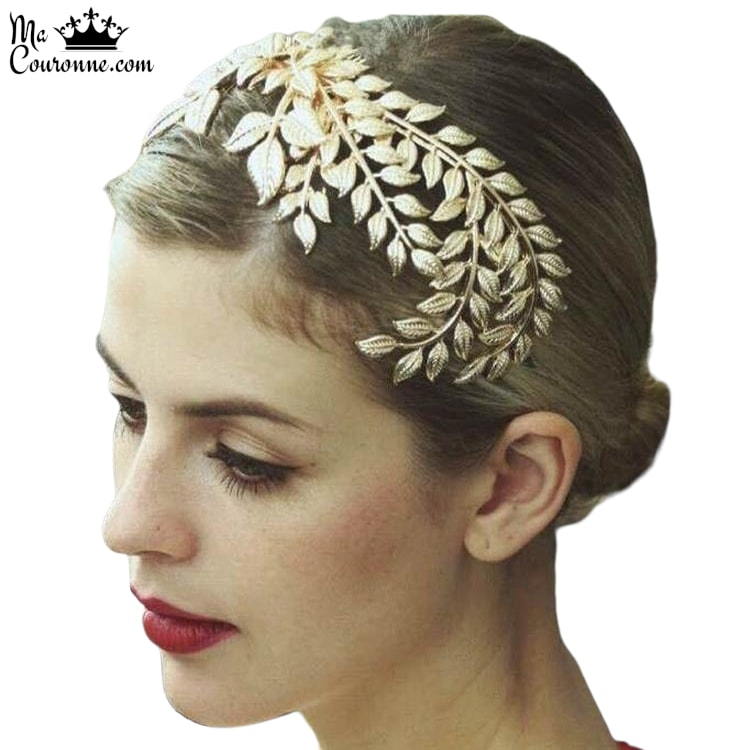 Couronne de Laurier <br>en Or d'Aphrodite