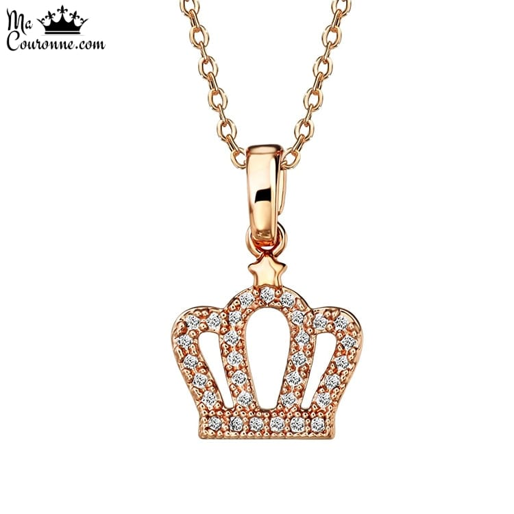 Pendentif Couronne Or