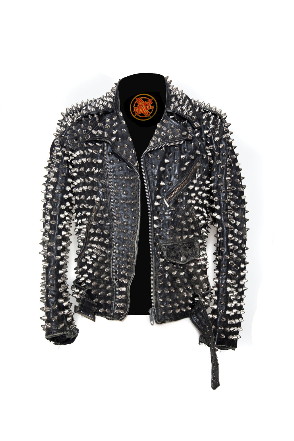 Overkill 2 Studded Leather Jacket