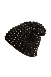 Black Dawn Studded Beanie