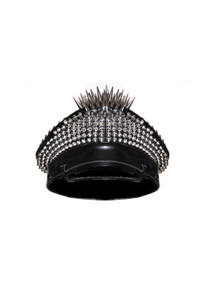 Breakin' the Law studded Military Cap