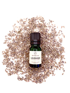 100% undiluted lavender essential oil
