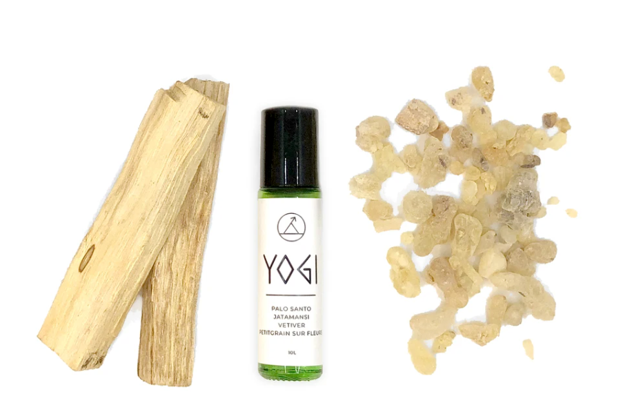 YOGI Roll On blend containing 100% essential oils