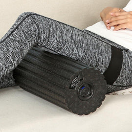 Foam Roller Massage Yoga Blocks Electric Vibration Foam Massage Roller For Fitness Adjustable Relieve Muscle Foam Roller