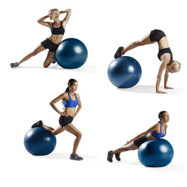 Ball balance fitness training