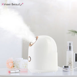 Facial Steamer Nano Ionic Face Steamer for Woman Home use Facial Sauna Spa Moisturizing Cleansing Pores Blackheads Acne