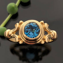 Load image into Gallery viewer, PET 532 YG R - Blue Topaz