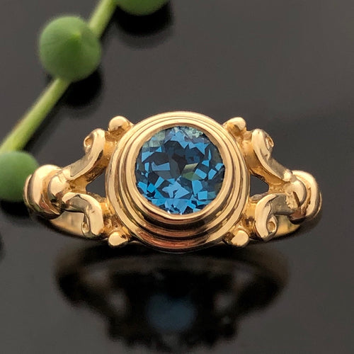 PET 532 YG R - Blue Topaz
