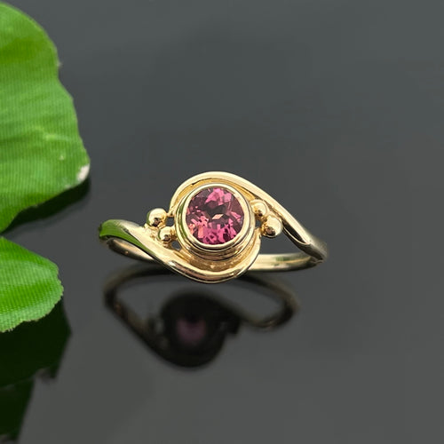 PET 1111 YG R - Pink Tourmaline
