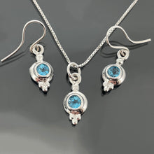 Load image into Gallery viewer, PET 438 WG E - Blue Topaz