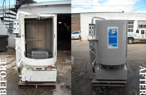 Cuda Refurbished Before and After - by ProLine Inc Watertown SD
