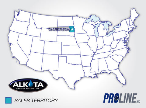 Alkota Proline Sales Territories