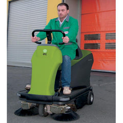 IPC 1050 Vacuum Sweeper Sold by Proline - Front view with model