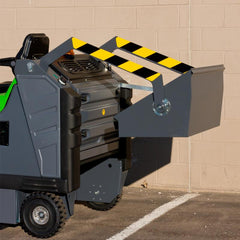 1404 Vacuum Industrial Sweeper by IPC Sold by Proline Watertown SD - Dust pan