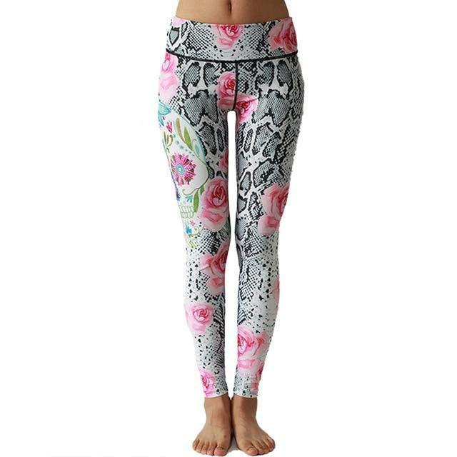 LI-FI 2020 NEW Sexy  Print Yoga Pants Fitness High Waist Workout  Leggings Gym Yoga Pants Elastic Slim Sports Leggings