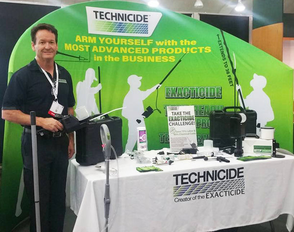 Technicide Owner Jim Harper at Pest World