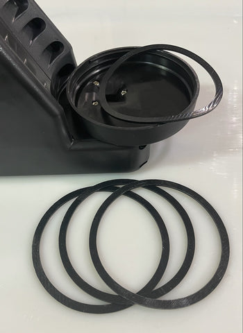 Pack of 3 canister spare gaskets $16.50