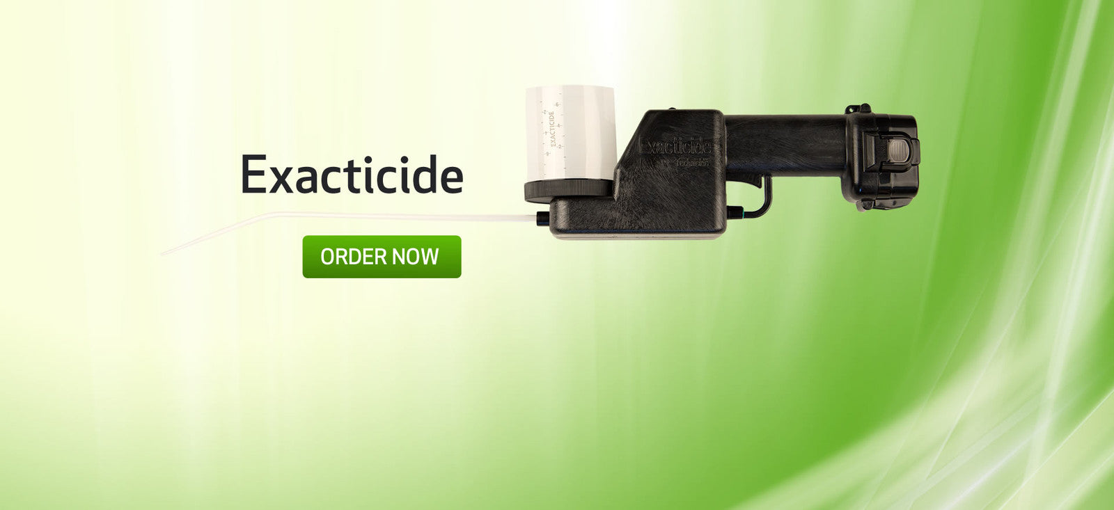 exacticide battery powered dust applicator pest control equipment