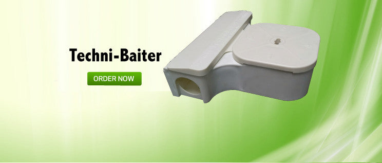 techni-baiter rodent station pest control equipment