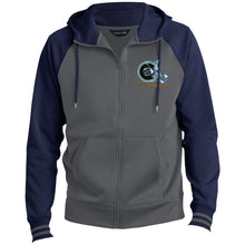 Men's Sport-Wick® Full-Zip Hooded Jacket ST236 BEYOU SCORPIO