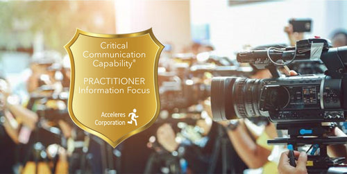 Critical Communications Capability® Practitioner - Information Focus