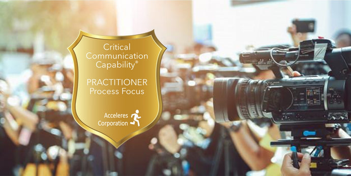 Critical Communications Capability® Practitioner - Process Focus