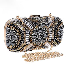 Art Deco Inspired Beaded Clutch