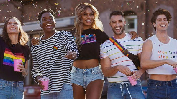 Laverne Cox X H&M Pride Collection