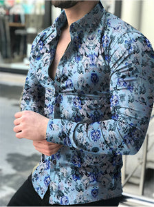 Cotton Floral Button Up