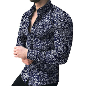 Camisa Men's Cotton Button Up