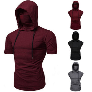 Ninja Head and Face Hooded Hoodie