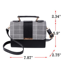 Load image into Gallery viewer, Tartan Color Pop Hand Bag