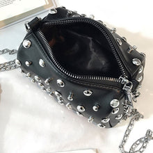 Load image into Gallery viewer, Star Rivet Square Shoulder Bag