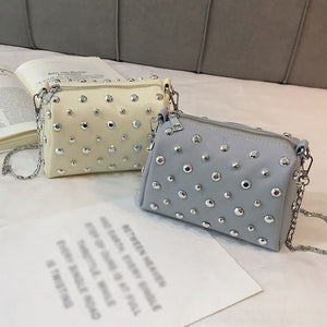 Star Rivet Square Shoulder Bag