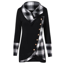 Load image into Gallery viewer, Tartan Tunic Pullover
